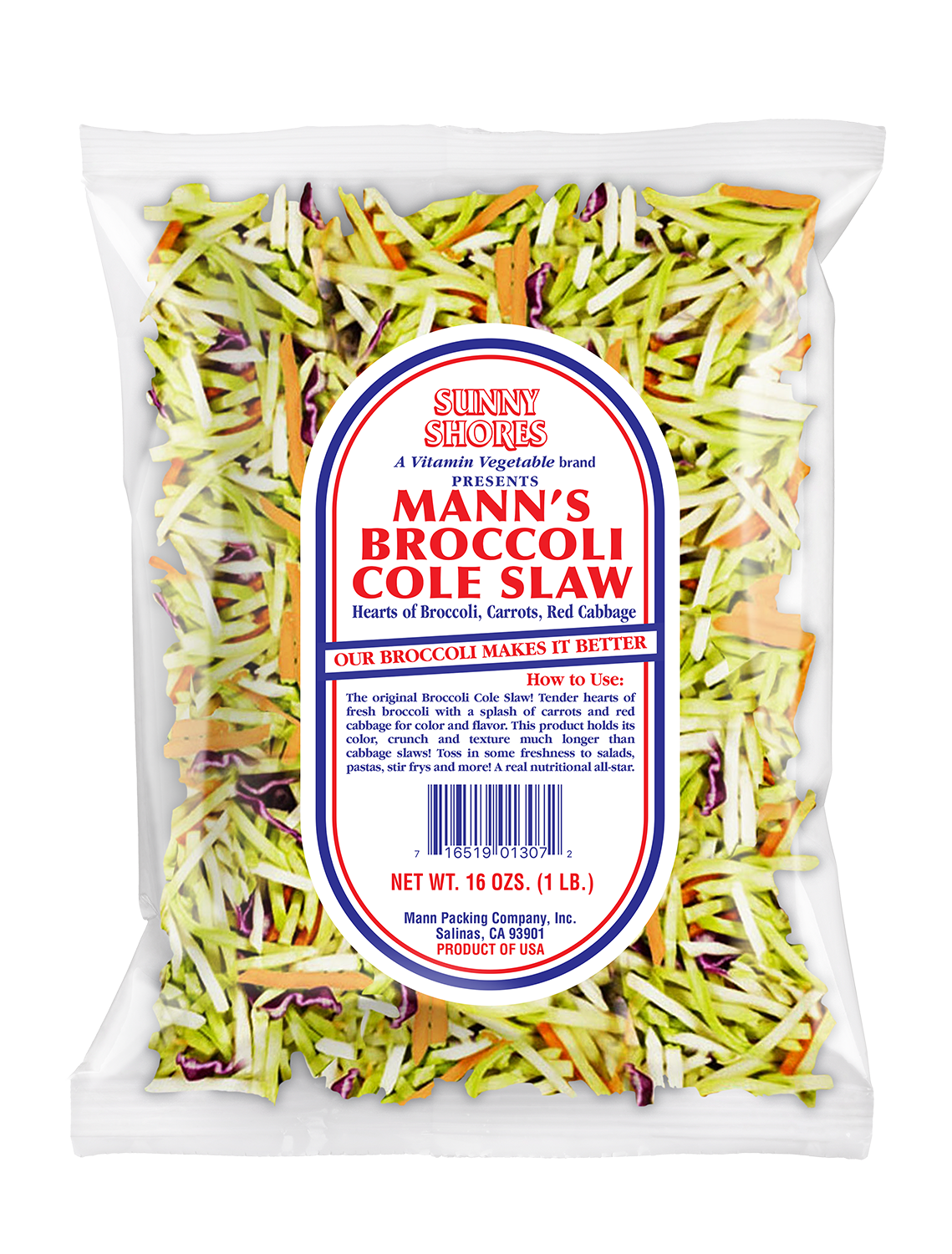Mann's Broccoli Cole Slaw