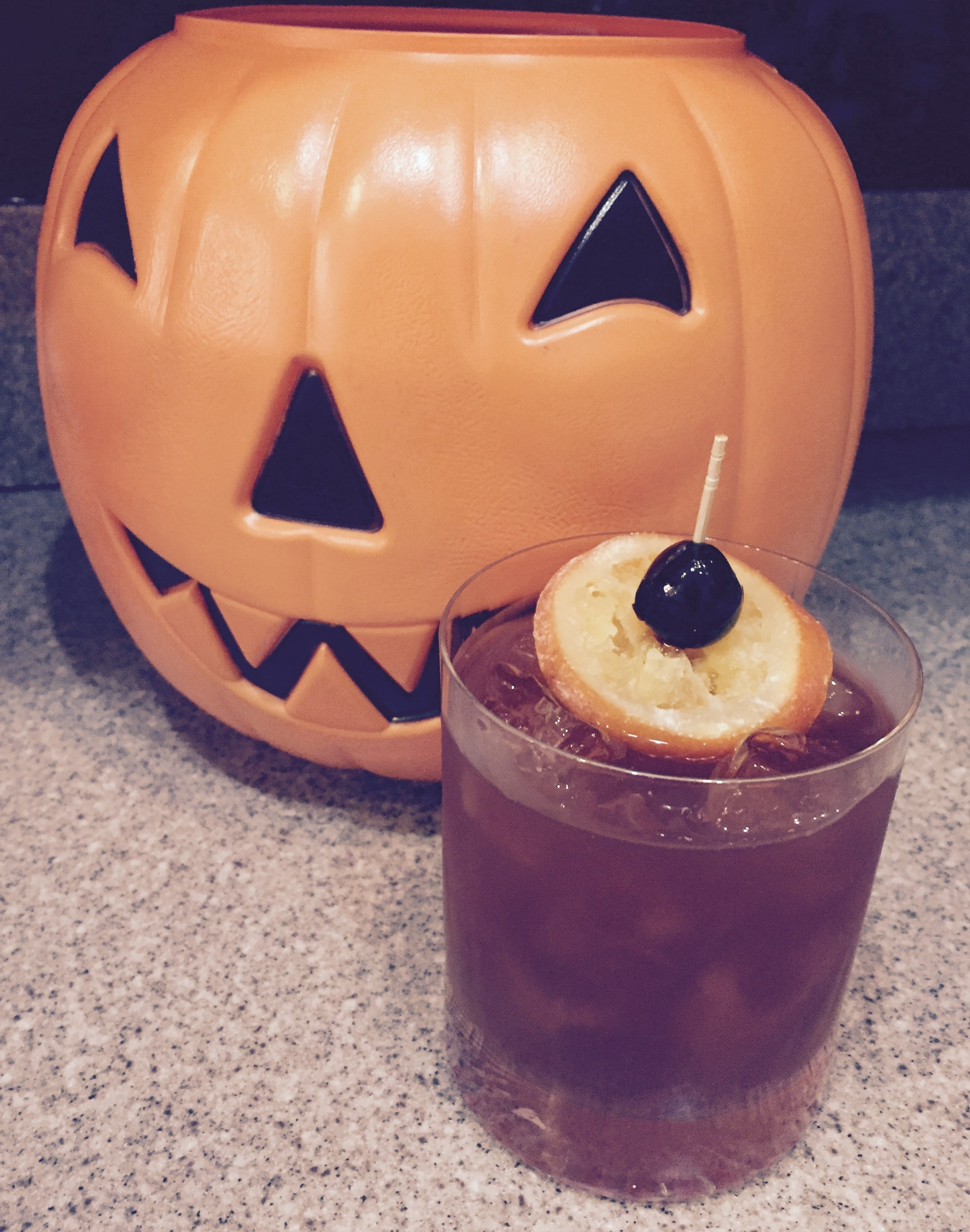 Pumpkin Spiced Old Fashioned
