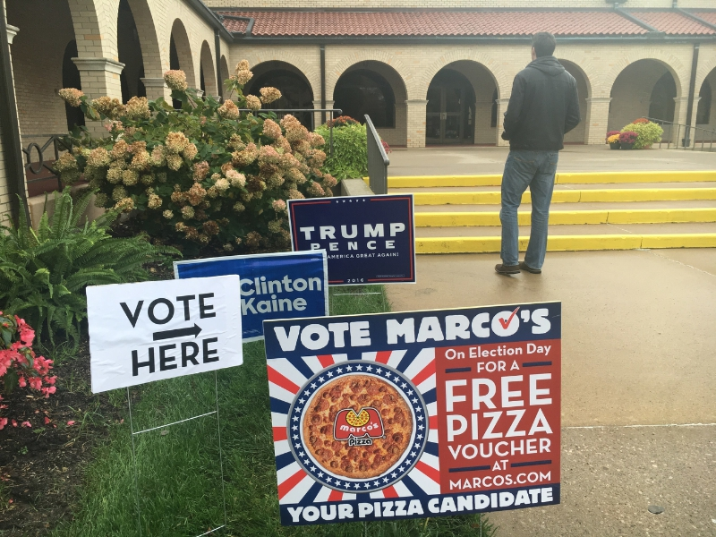 Marcos Pizza Election Day Offer
