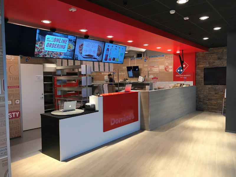 Dominos Pizza opens first store in Sweden