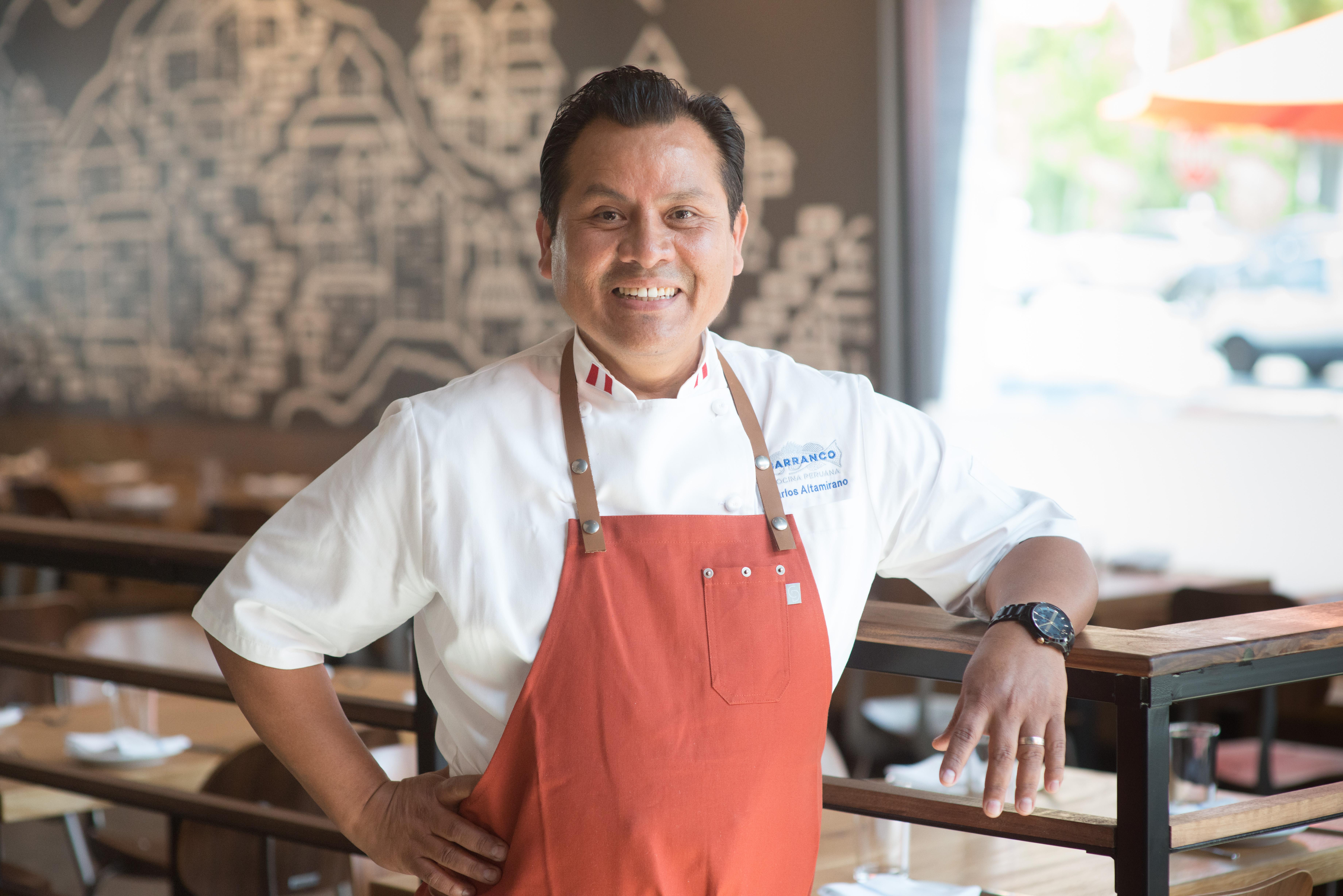 Chef Carlos Altamirano
