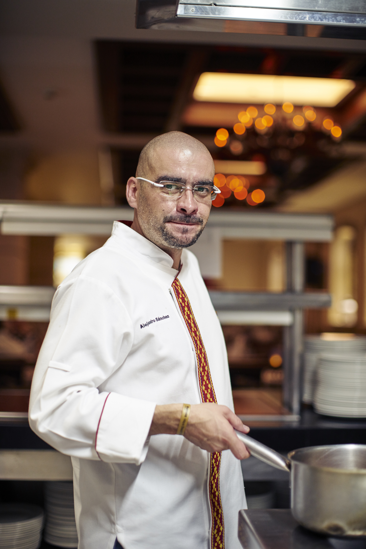 Chef Alejandro Sánchez Gastronomic Director