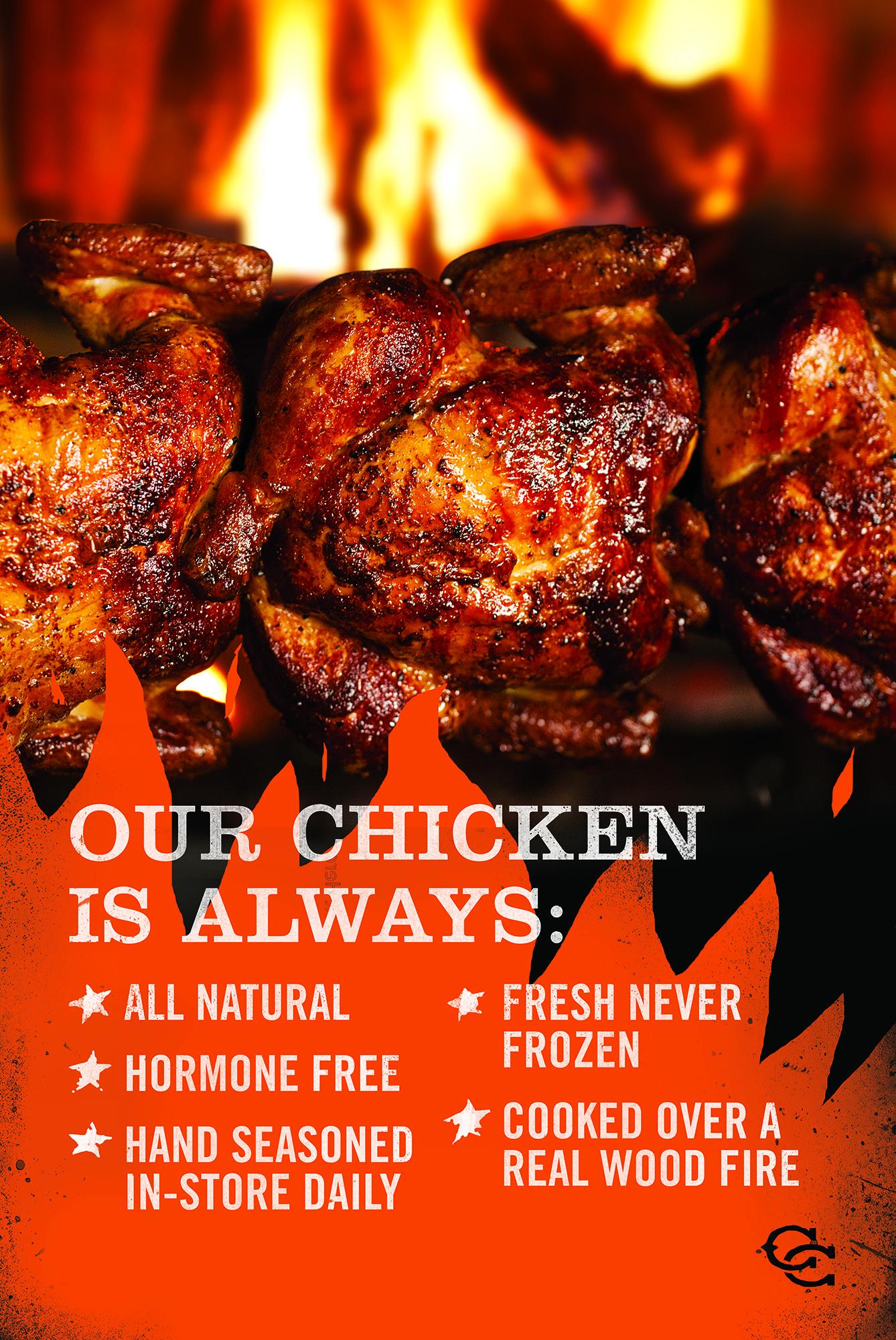 Cowboy Chicken App