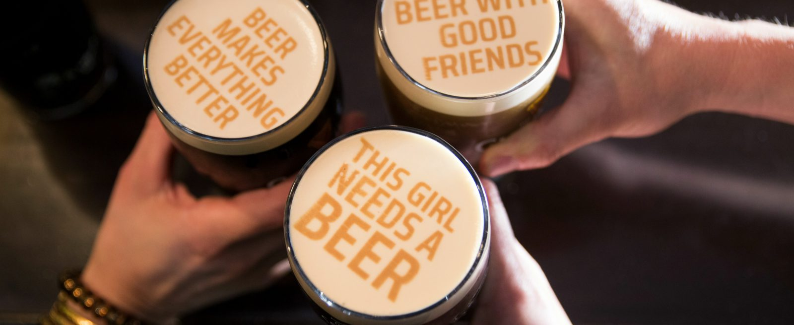 New & Notable: Beer Ripples, Cheesy Shampoo, FroYo Robot and