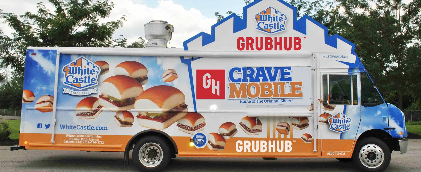 white castle on grubhub and design leaders join forces. Black Bedroom Furniture Sets. Home Design Ideas