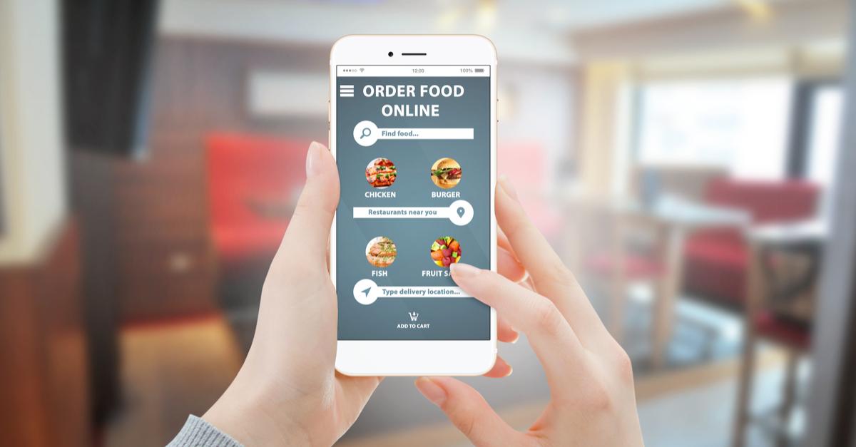 online pizza order