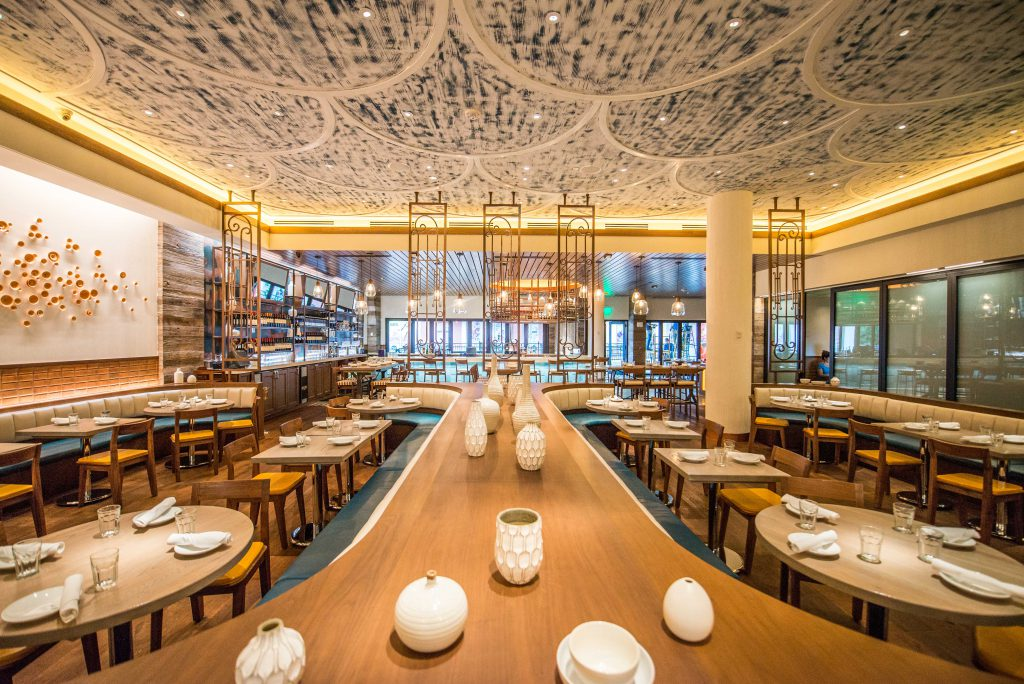 Collecting the ingredients of restaurant design modern