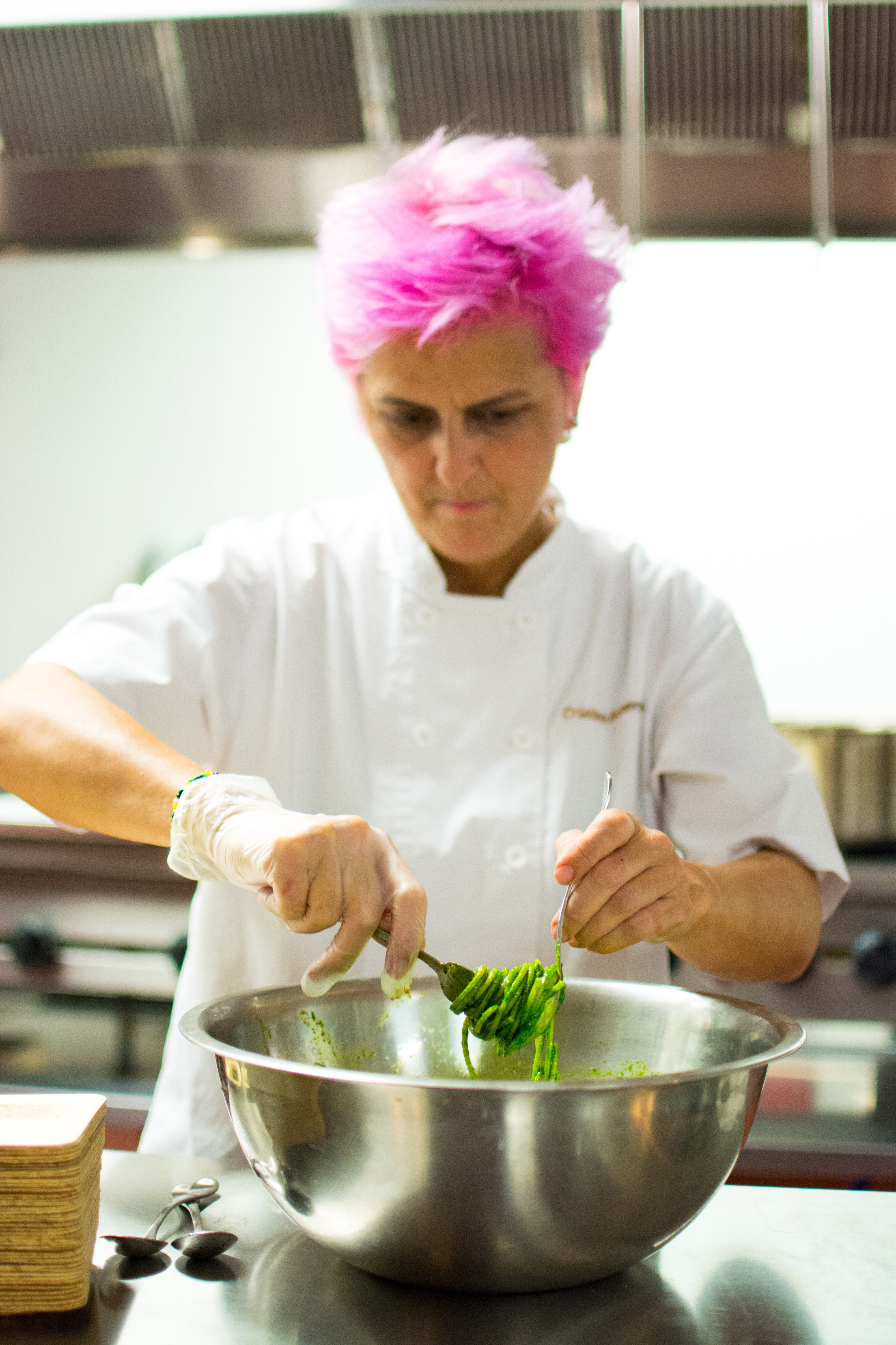 pink chef