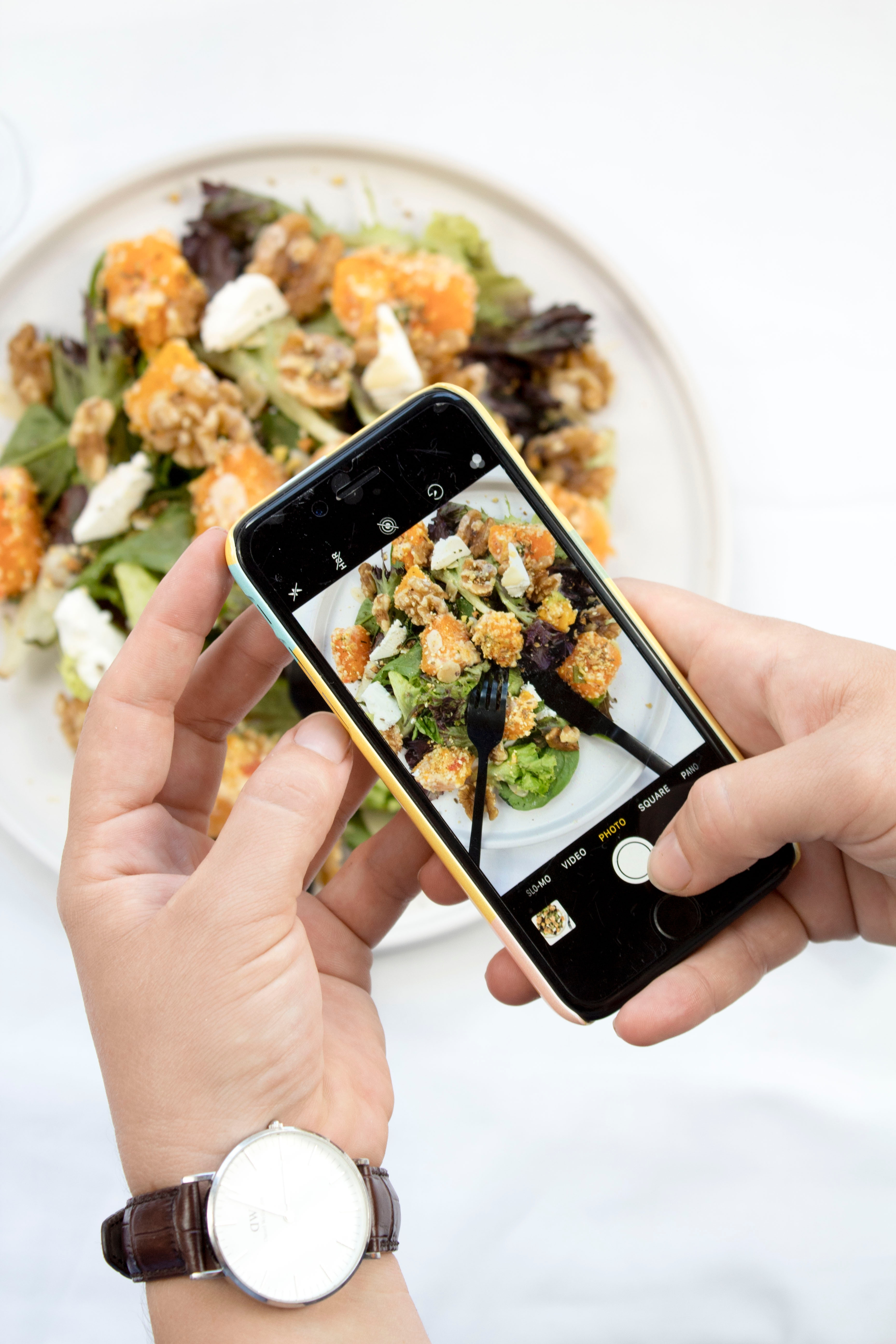 Tapping Instagram, Influencers and Healthy Eating Trends to