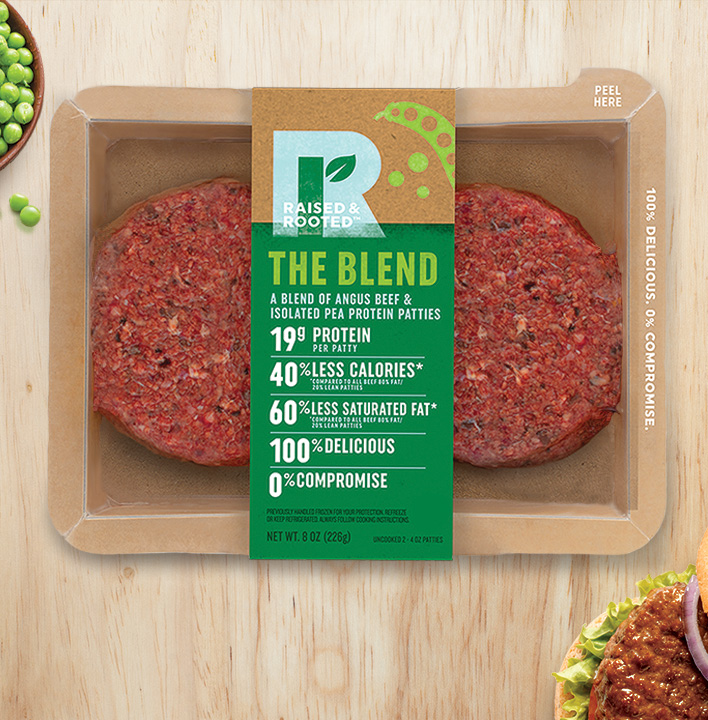 MRM Plant-Based: Raised & Rooted, Fresh L A  and Nozzarella